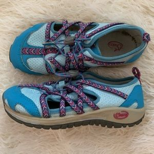 Chaco Bright Blue Girls Shoes Size US 13